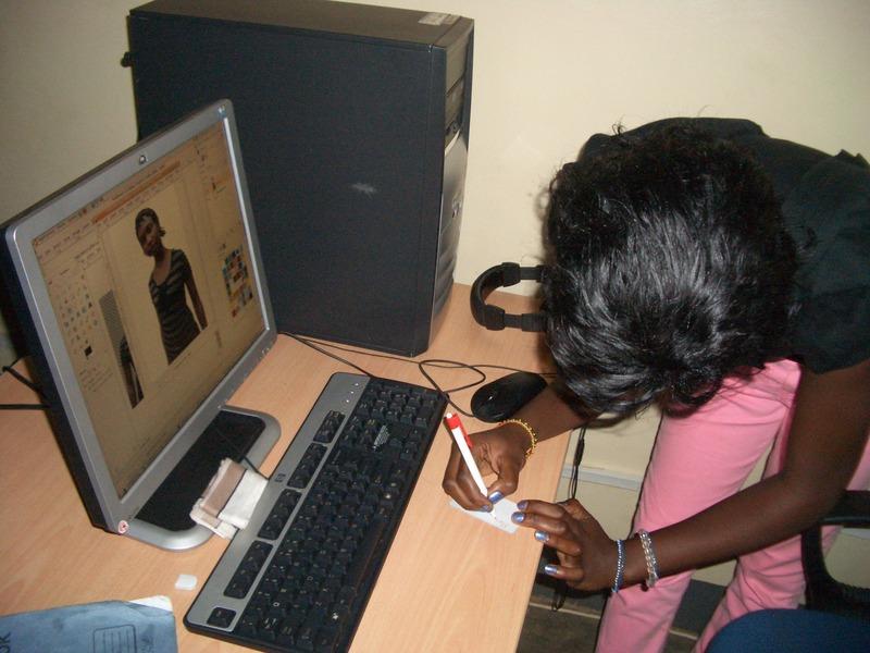 Computer in Uganda